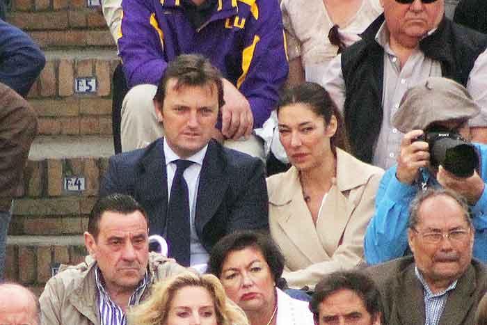 Raúl 'El Tato', y la empresaria y modelo Raquel Revuelta.
