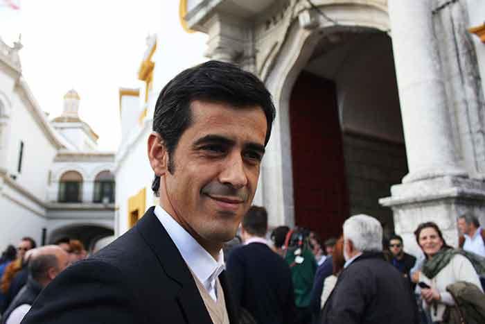 El torero Víctor Janeiro.