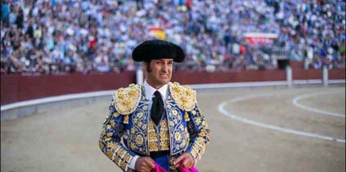 Morante con el gesto contrariado, hoy en Madrid. (FOTO: las-ventas.com)