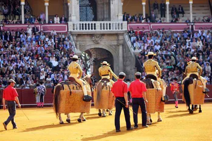 Un paseíllo de la pasada Feria de Abril. (FOTO: Javier Martínez)