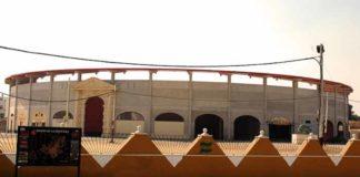 La amplia y cómoda plaza de toros sevillana de Morón.