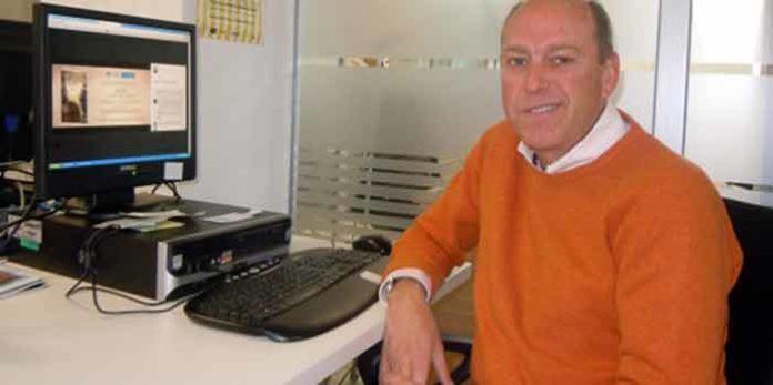El periodista taurino sevillano Fernando Carrasco.