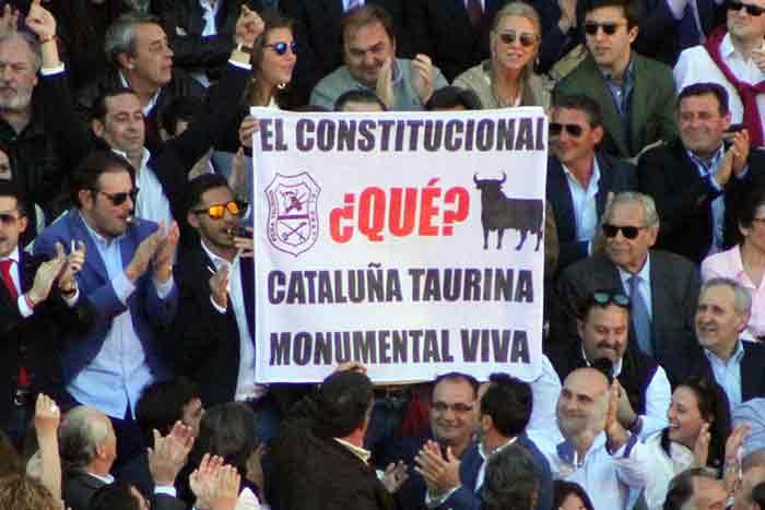 Reivindicación taurina-catalana.