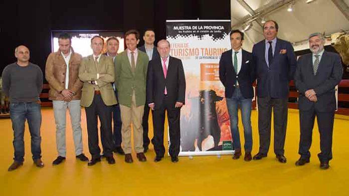 de inauguación en la Diputación de Sevilla.