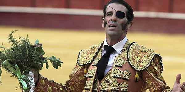 Padilla, hoy en Osuna tras indultar al toro 'Pepe Luis'.