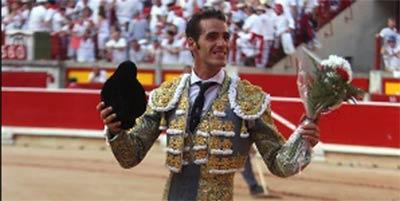 Pepe Moral, en Pamplona hoy viernes.