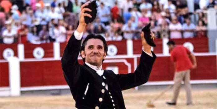 El rejoneador Diego Ventura, hoy en Albacete.