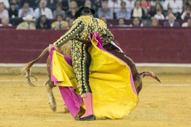 Chicuelina de Morante en Zaragoza.