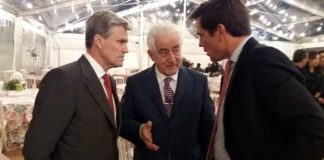 De izquierda a derecha: Espartaco, El Viti y Dávila Miura.