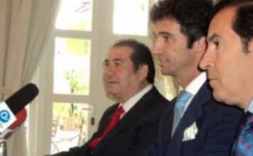 José Luis Cazalla, Luis Vilches y Manuel Vázquez Gago.