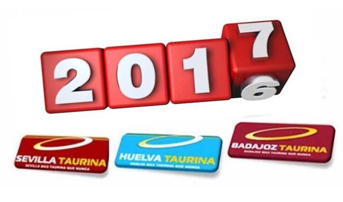 El equipo de nuestros portales SEVILLA TAURINA, BADAJOZ TAURINA y HUELVA TAURINA le desea Feliz Año Nuevo 2016.