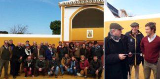 La visita de los abonados sevillanos a la ganadería de La Quinta.