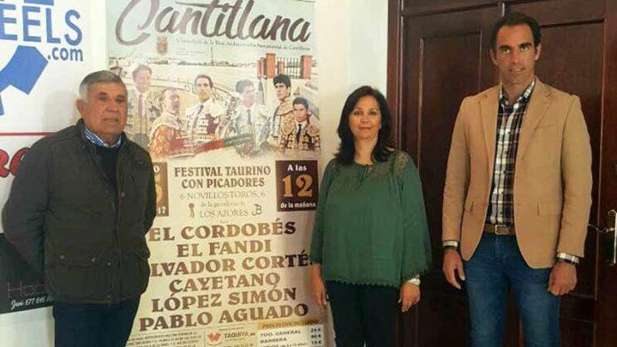 Presentación del festival de Cantillana.
