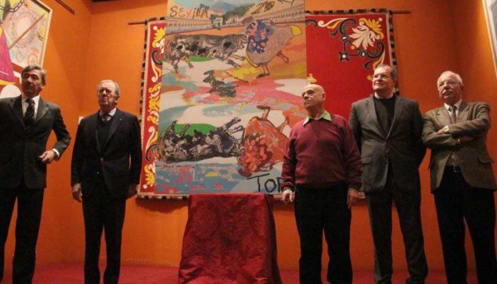 Presentación de la obra pictórica de la temporada 2017 en Sevilla.