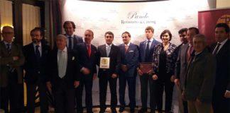 Acto de entrega del Trofeo a Victorino Martín.