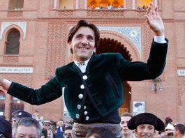 Diego Ventura, puerta grande en Madrid.