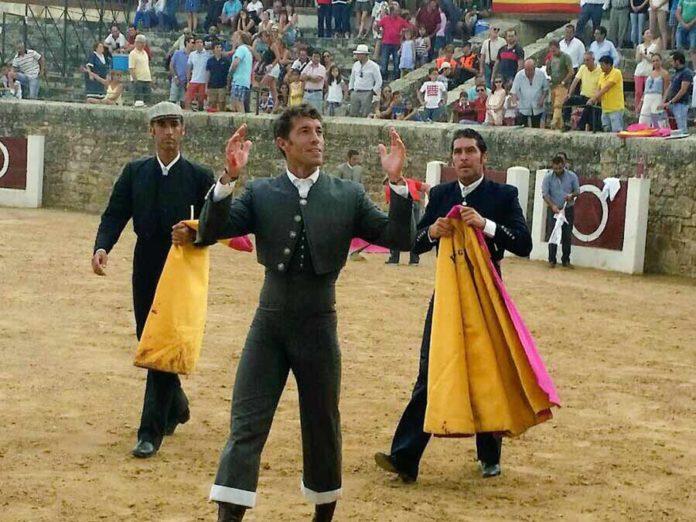 Manuel Escribano, triunfador hoy sábado en el festival celebrado en Medina de Rioseco (Valladolid).