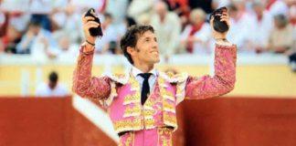 Manuel Escribano, con su triunfo hoy en Bayona.