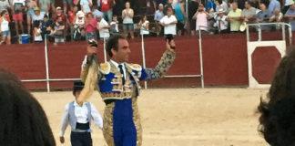 Salvador Cortés y su triunfo en Mota del Cuervo.
