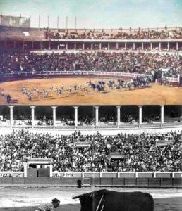 Arriba, la Monumental de Sevilla. Abajo, la Maestranza. Ambas, con dos buenas entradas en 1919.